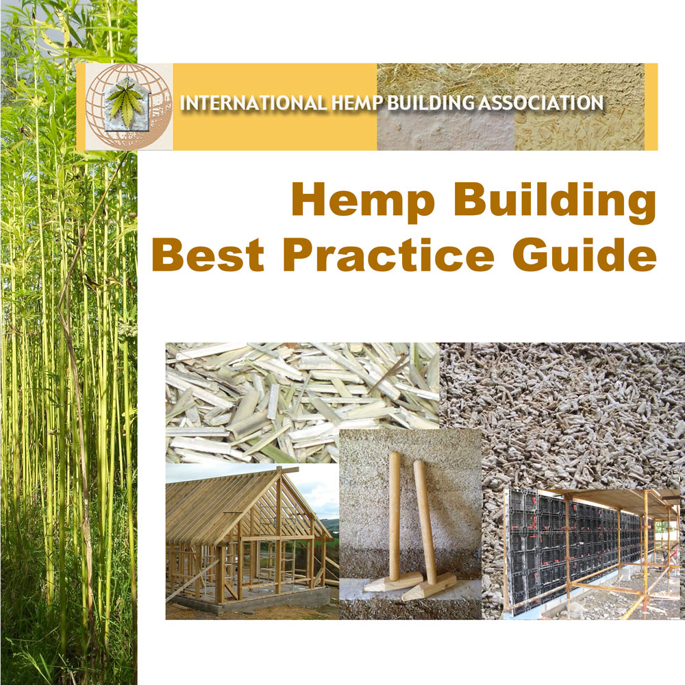 Cover of the long awaited IHBA Hemp Building Best Practice Guide