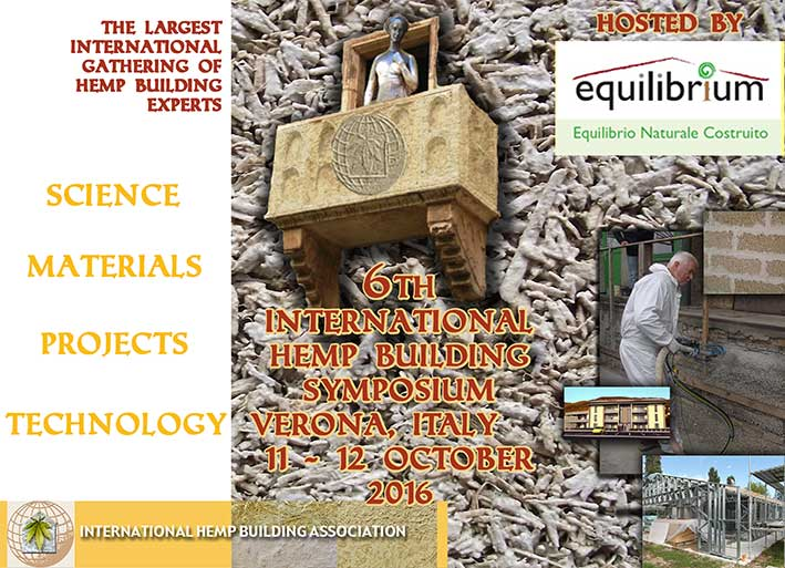 The next Symposium will feature a visit to Hemp Building site where an apartment block is being built to see the sprayed application of the Hempcrete supplied by Equilibrium.