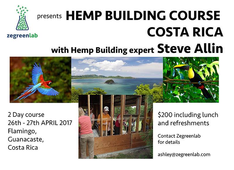 Hemp Building course Costa Rica