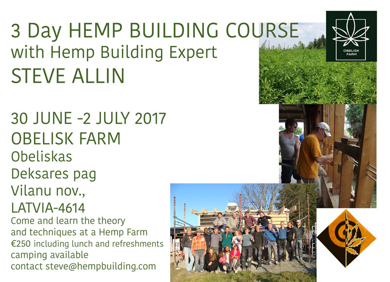 Latvia Hemp Building Course