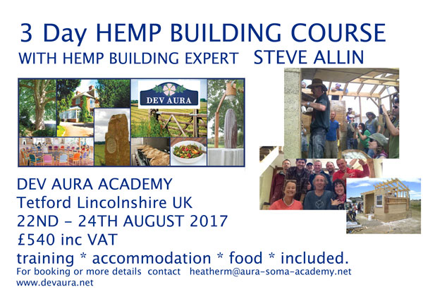 Lincolnshire UK Hemp Building Course