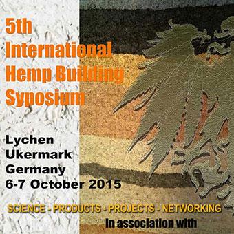 5th International Hemp Building Symposium 2015