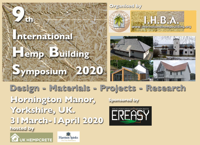 9th International Hemp Building Symposium