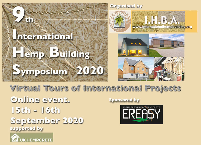 The 9th International Hemp Building Symposium